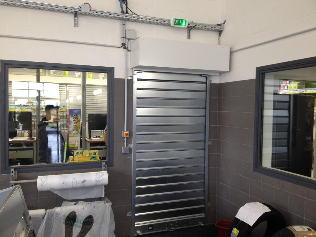 depannage rideau metallique 92
